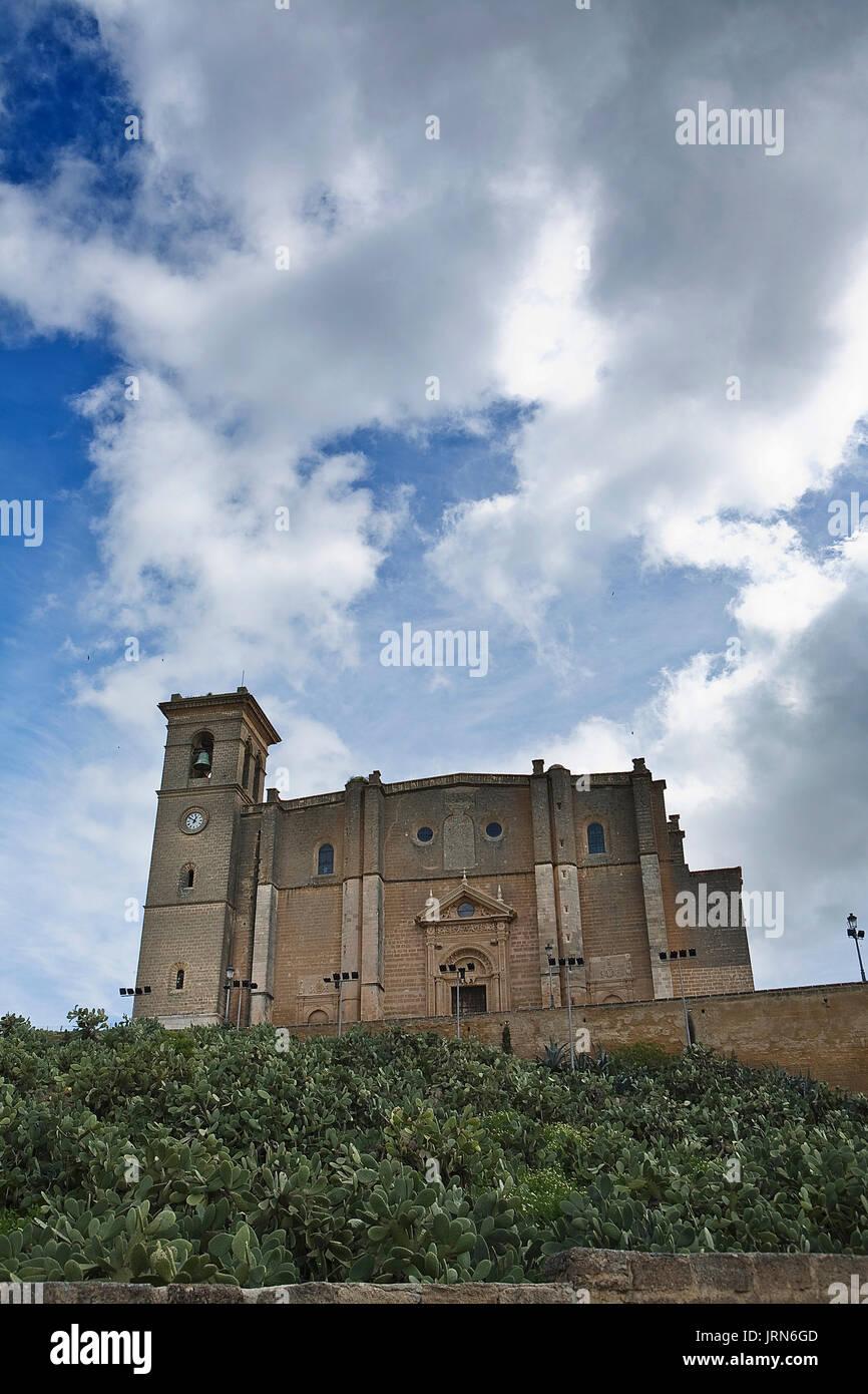La colegiata de Nuestra Señora de la Asunción de Osuna, Andalucía, España Imagen De Stock
