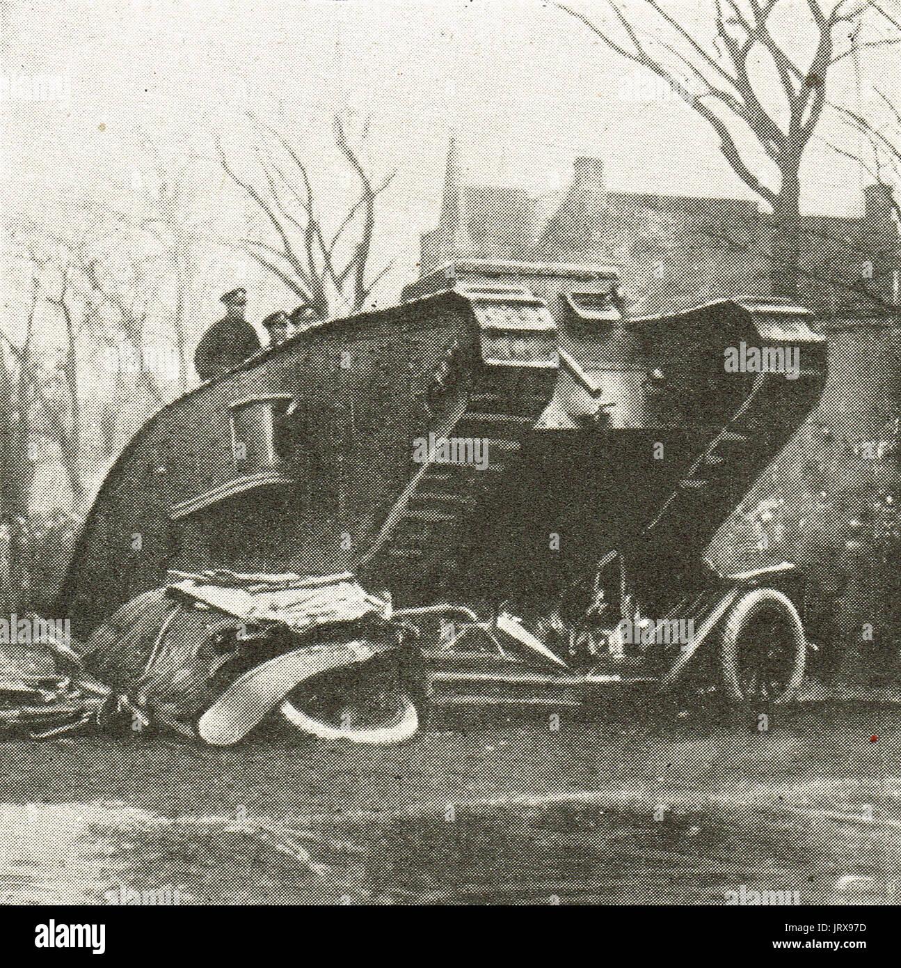 V Depósito de coche, préstamo de la victoria, Toronto demo 1917 Imagen De Stock