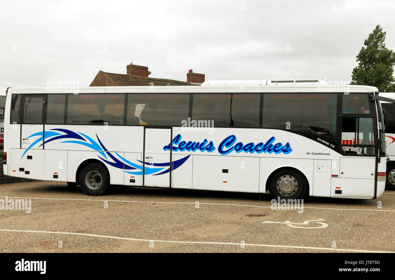 Lewis, el entrenador de entrenadores, viajes, excursiones, vacaciones, viajes, excursiones, transporte, Inglaterra, Reino Unido, el operador, los operadores, la compañía, las empresas Imagen De Stock