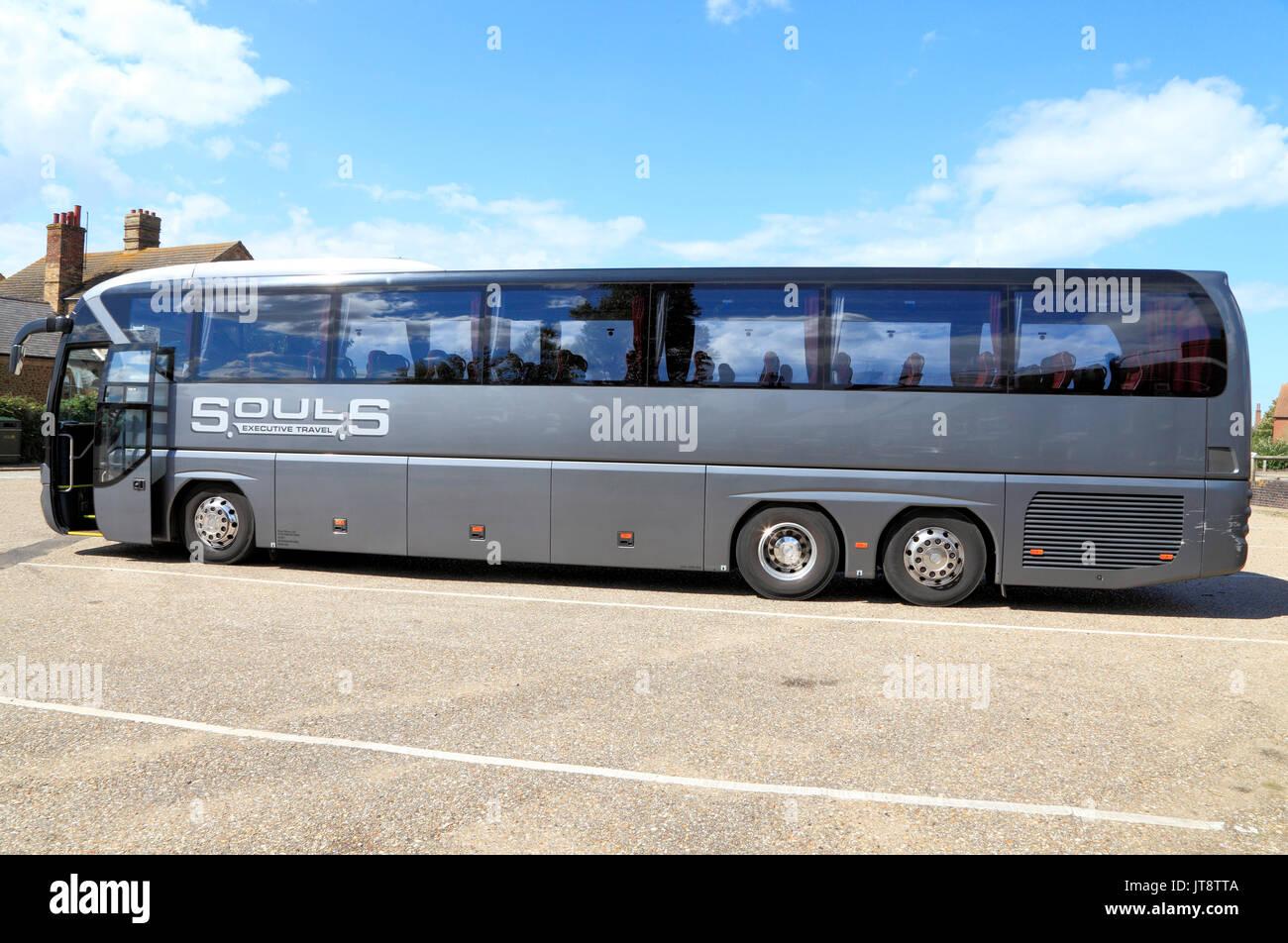 Las almas coach, entrenadores, director ejecutivo de la compañía de viajes, excursiones, vacaciones, viajes, transportes, Inglaterra, Reino Unido, el operador, los operadores, la compañía, las empresas Imagen De Stock