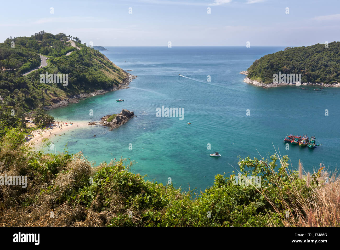 Ya Nui, Rawai Beach, Phuket, Tailandia Foto de stock