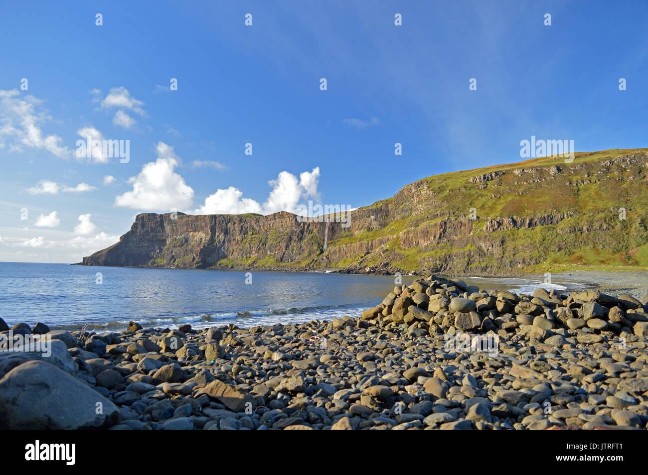 Talisker Bay Isla de Skye Escocia Foto de stock