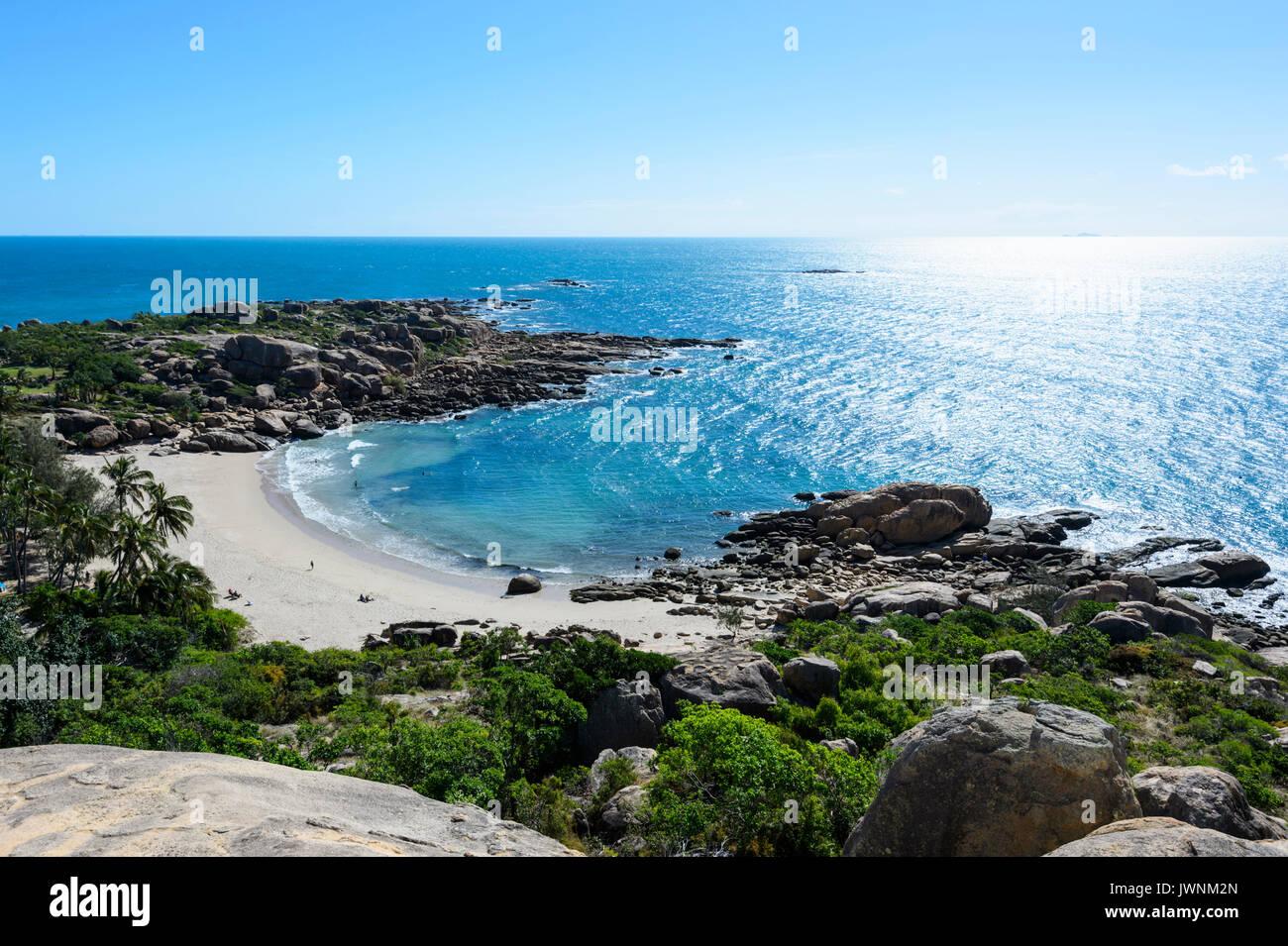 Horseshoe Bay, Bowen, Queensland, Queensland, Australia Foto de stock