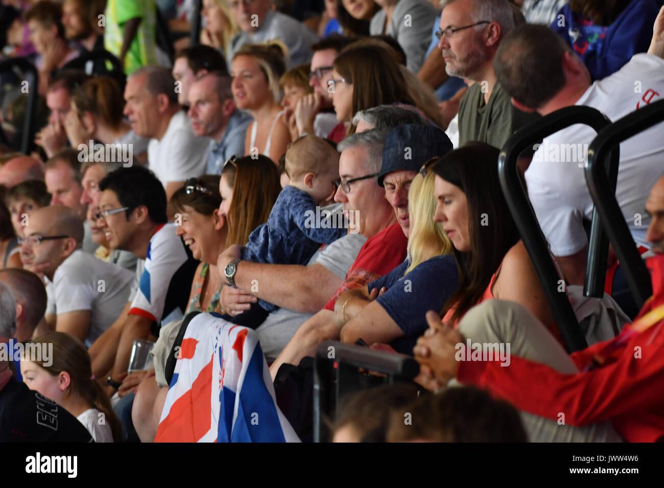 Queen Elizabeth Park, Londres, Reino Unido. 12 Aug, 2017. Campeonatos Mundiales de la IAAF. Día 10. Crédito: Matthew Chattle/Alamy Live News Foto de stock