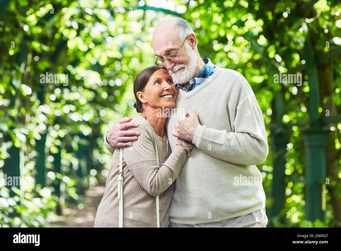 El amor de los ancianos Imagen De Stock