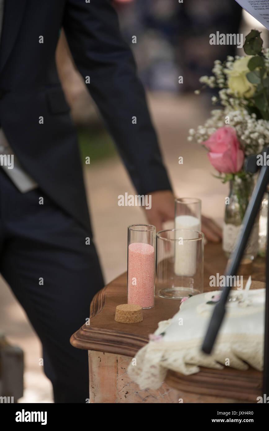 detalles de boda Imagen De Stock