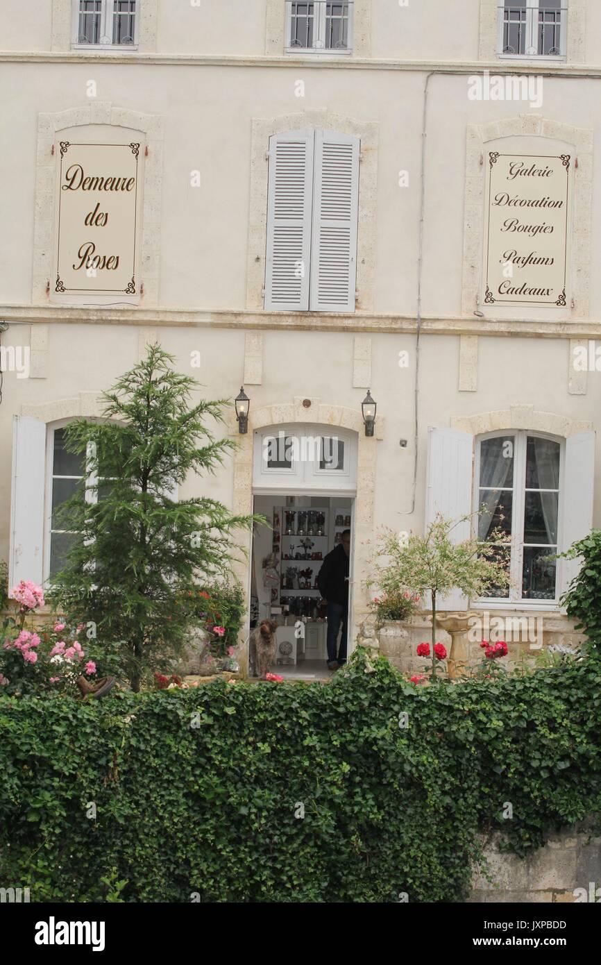 La Charente Foto de stock