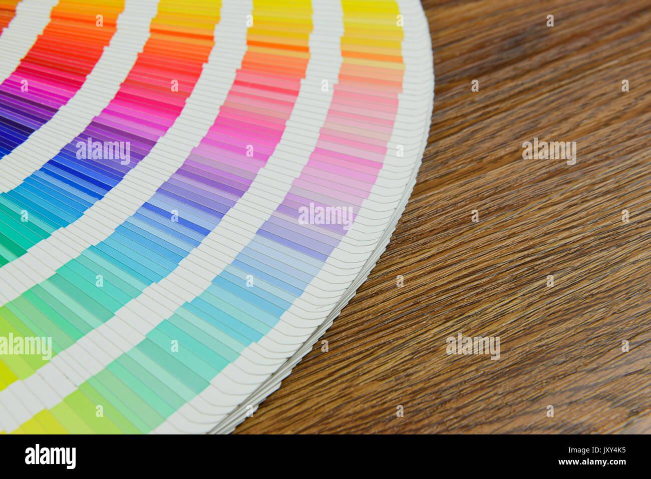Dorable Matriz Para El Libro De Muestras De Color Festooning ...