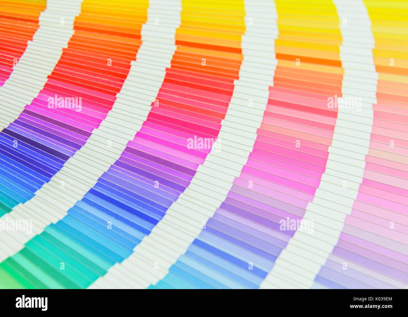 Hermoso libro de muestras de color Foto & Imagen De Stock: 154966636 ...