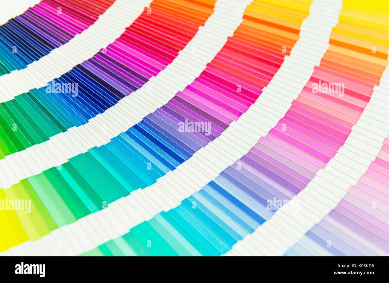 Hermoso libro de muestras de color Foto & Imagen De Stock: 154974434 ...