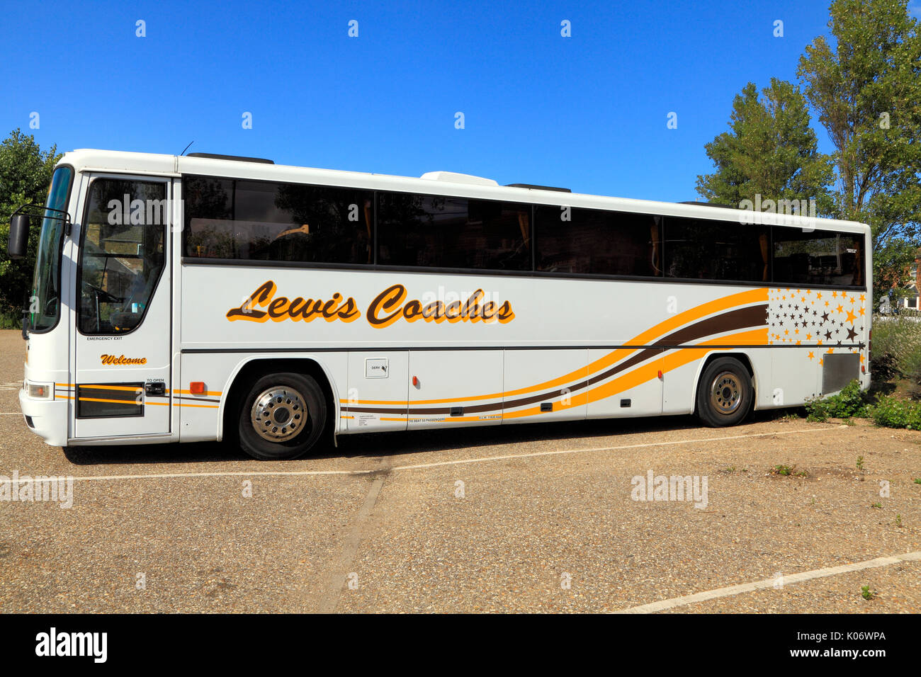 Lewis, entrenadores, coach, Executive Travel, viaje de un día, viajes, excursiones, excursiones, agencia de viajes, compañías de transporte, vacaciones, Inglaterra, Reino Unido. Imagen De Stock