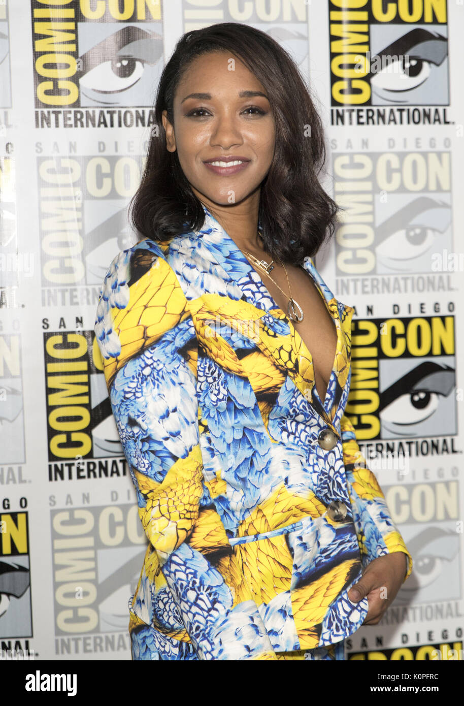 San Diego Comic Con 2017 Flash Photocall Featuring Candice Patton Donde San Diego California Estados Unidos Cuándo 22 Jul 2017 Crédito Eugene Poderes Wenn Com Fotografía De Stock Alamy