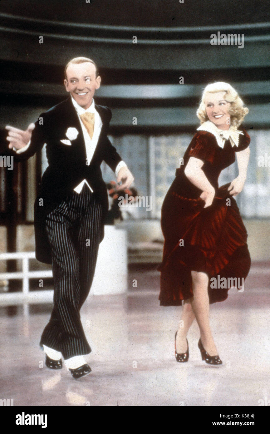 Tiempo De Giro De Fred Astaire Ginger Rogers Fecha 1936 Fotografia De Stock Alamy