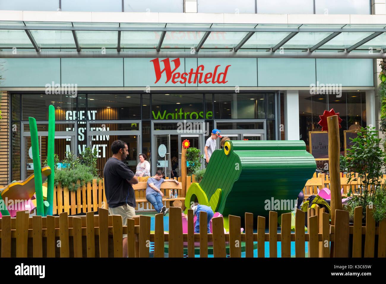 Westfield En Stratford Londres Zona De Juegos Para Los Ninos