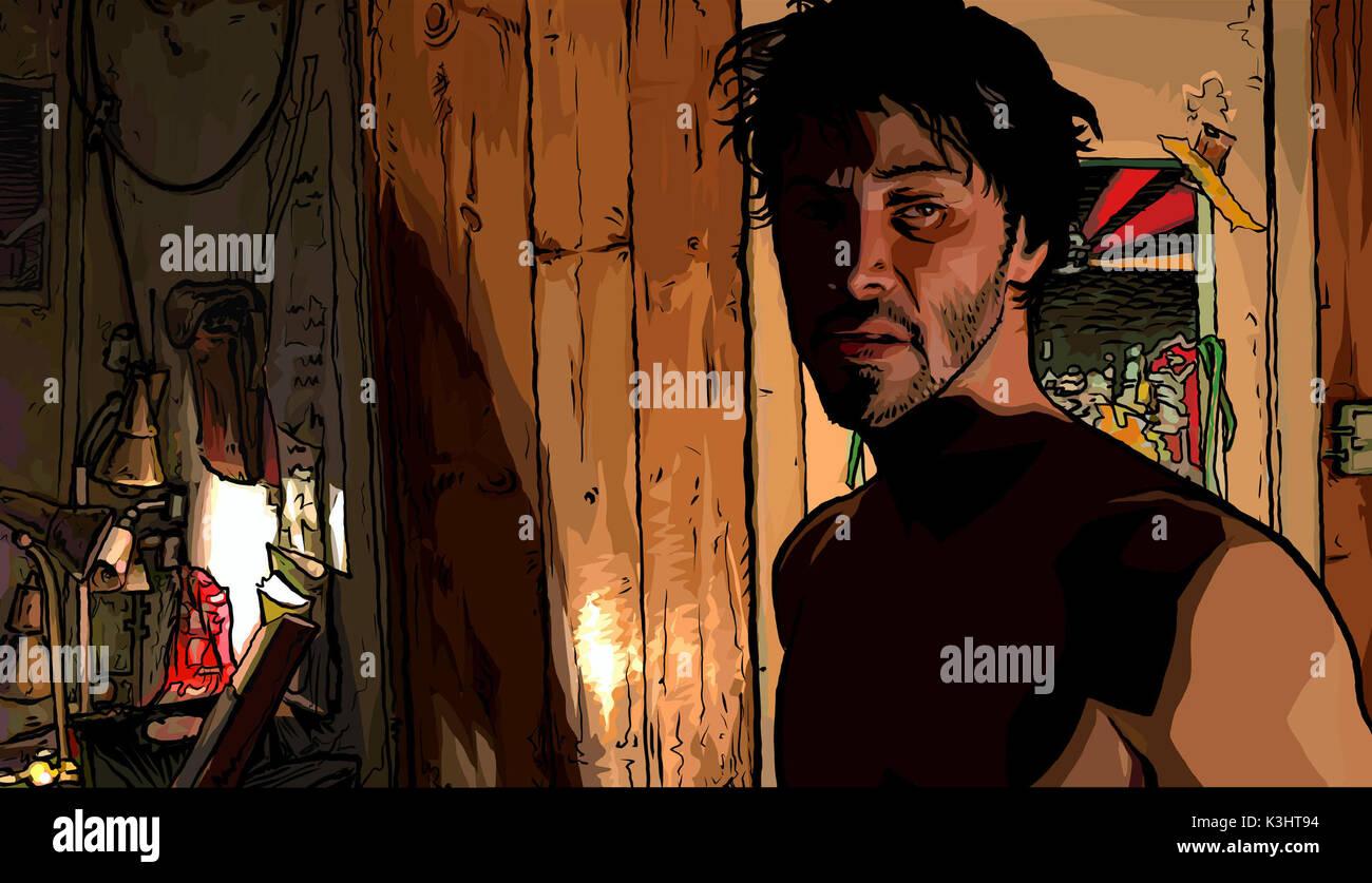 A Scanner Darkly Keanu Reeves Fecha: 2006 Foto de stock