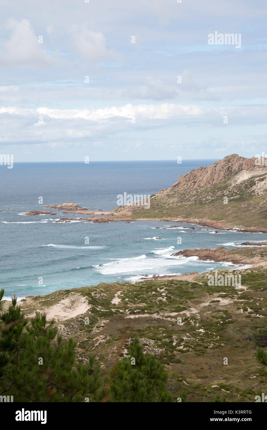Trece Playa, Costa de la Muerte; Galicia; España Imagen De Stock