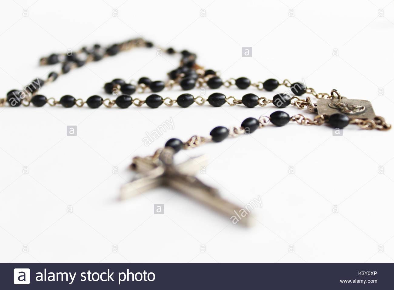 Rosario católico Imagen De Stock