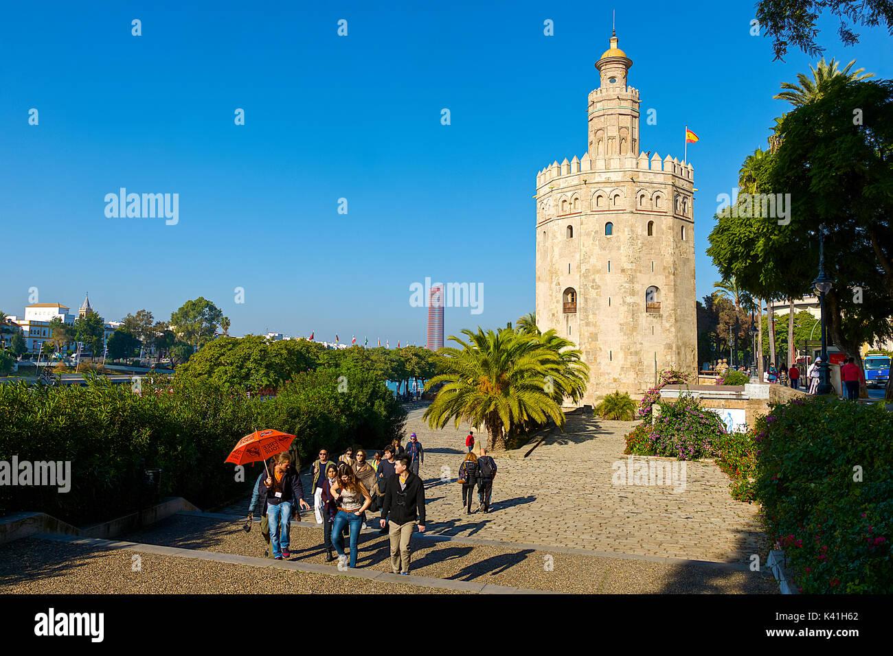 Torre Del Oro Imagen De Stock