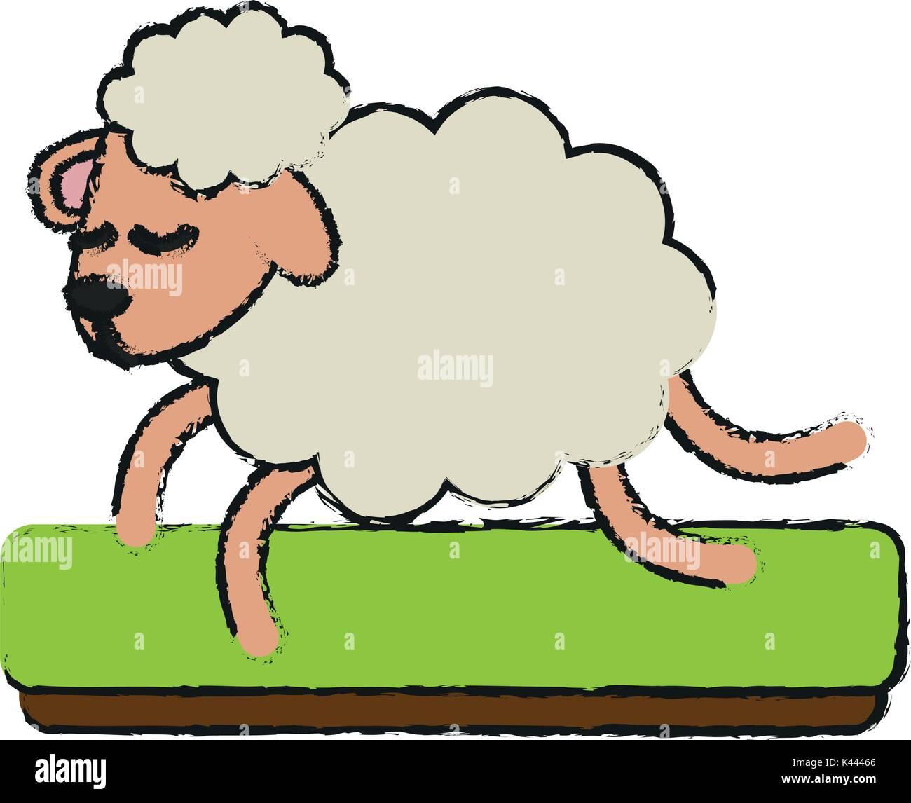 Funny Cartoon Sheep Imágenes De Stock & Funny Cartoon Sheep Fotos De ...