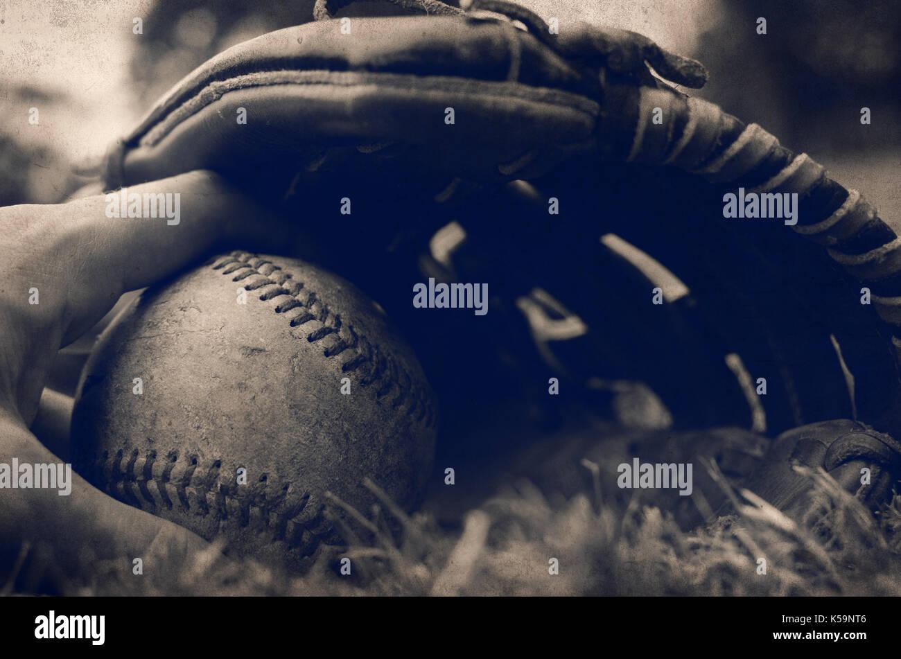 Vintage Baseball Imágenes De Stock & Vintage Baseball Fotos De Stock ...
