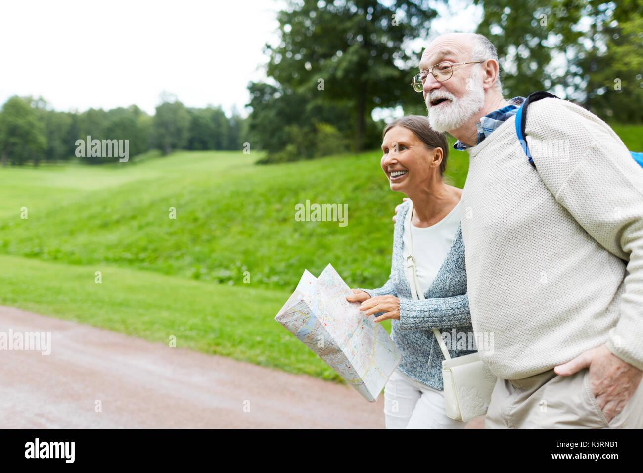 Asombrados ancianos Imagen De Stock