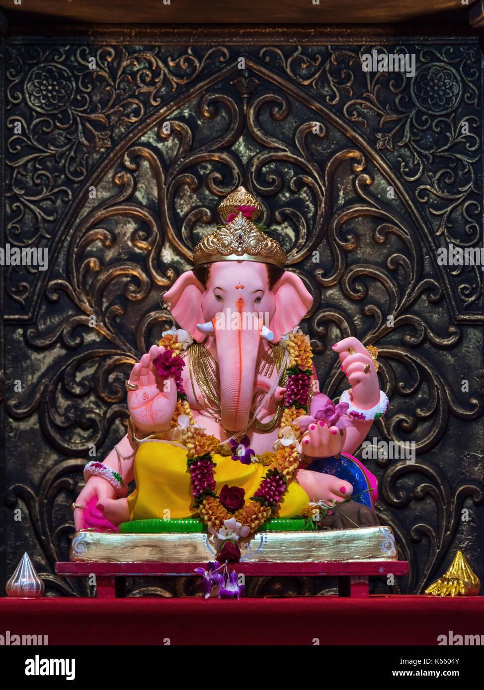 Brahman Sabha, Ganesh Festival 2017, Mumbai, India Imagen De Stock