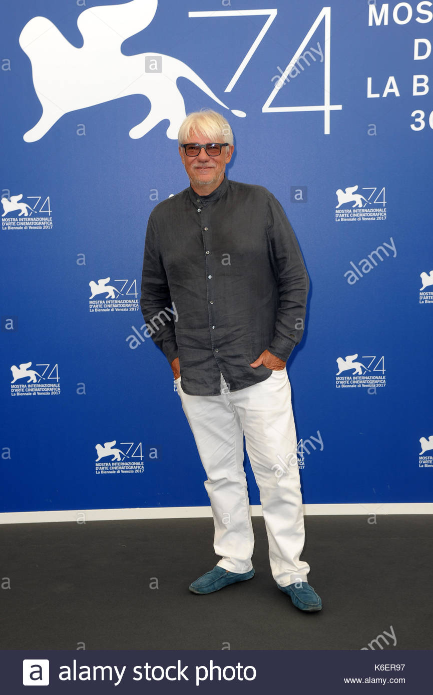 Ricky Tognazzi venezia 05-09-2017 Foto de stock