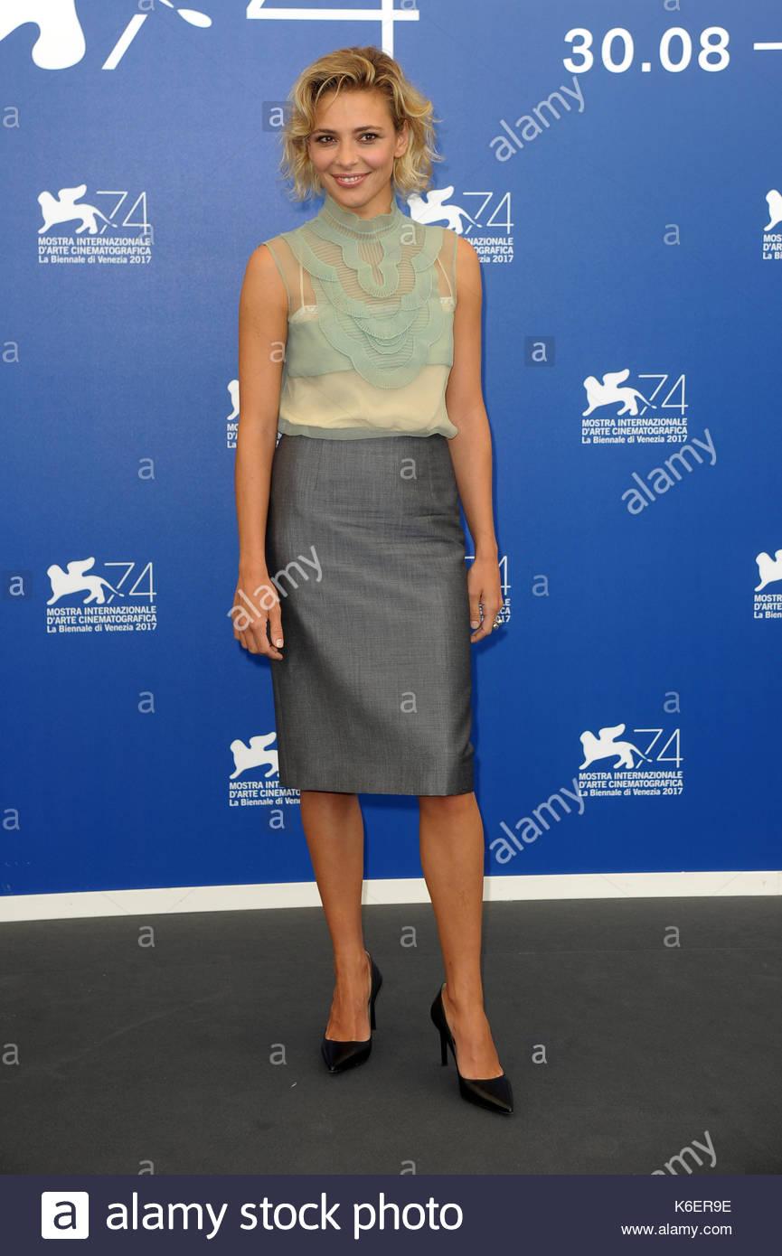 Jasmine Trinca venezia 05-09-2017 Foto de stock