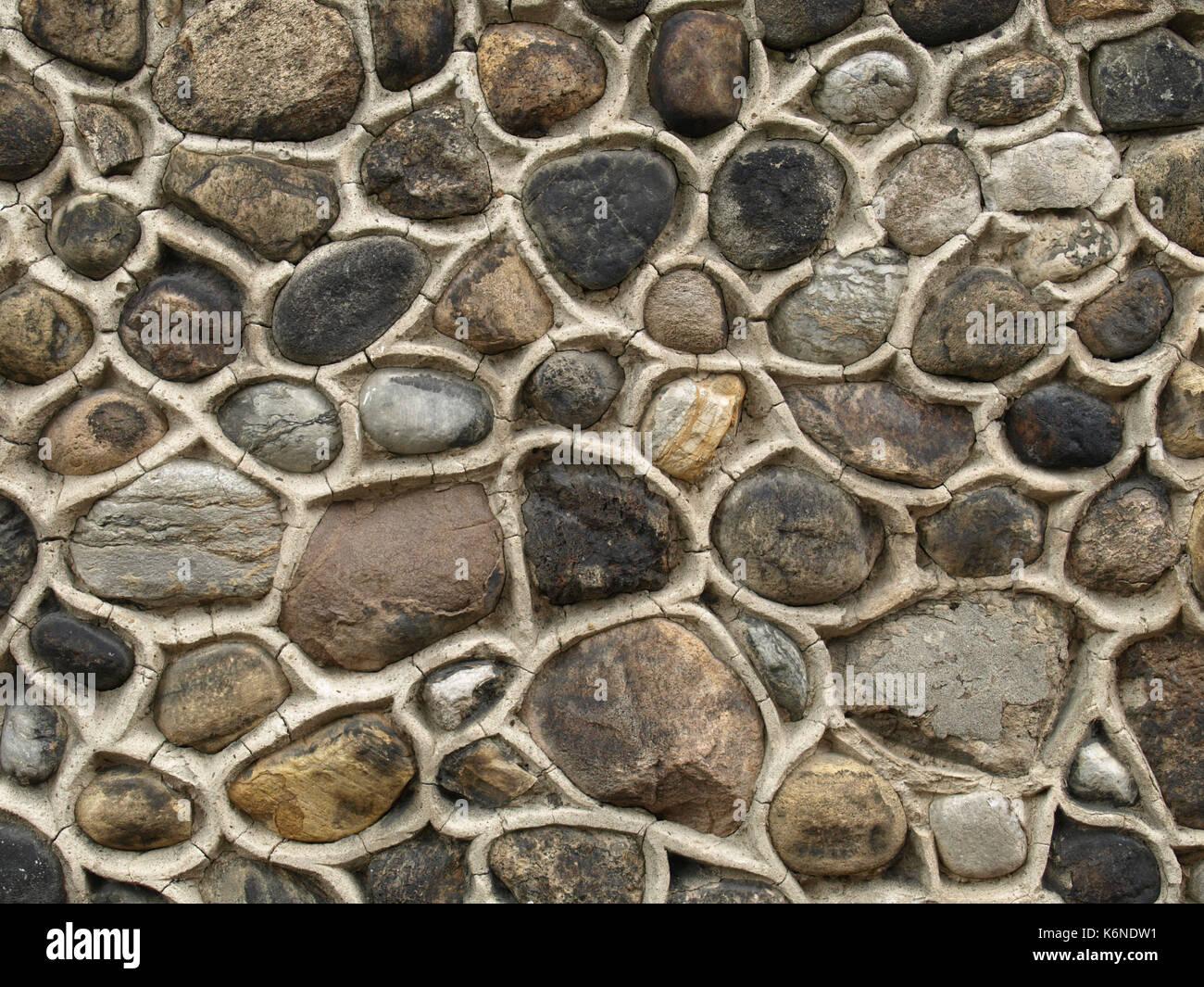 Muro de mamposter a de piedra natural casa vida multi - Muro de piedra natural ...
