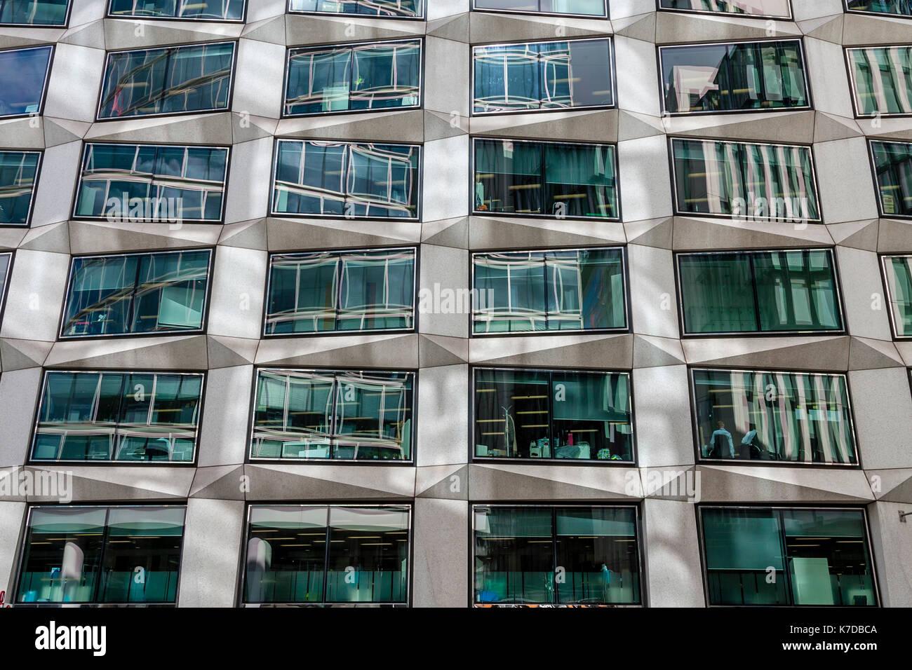 El exterior del número 1 Coleman Street, moorgate, edificio de oficinas de la ciudad de Londres, Londres, Reino Unido. Imagen De Stock