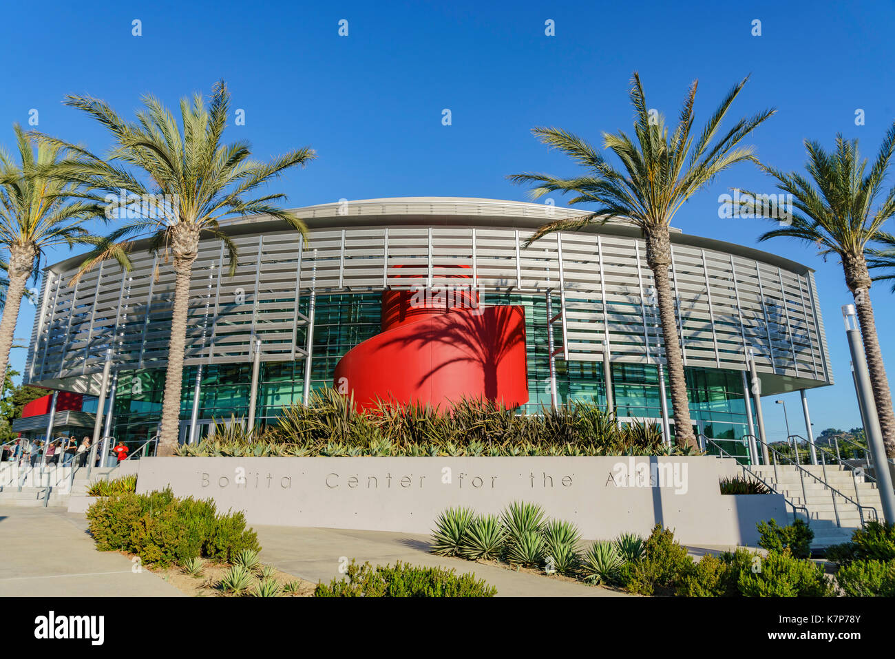 Los Angeles , jun 25: Vista exterior de la bonita centro para las artes en jun 25, 2017 en los angeles, California Imagen De Stock