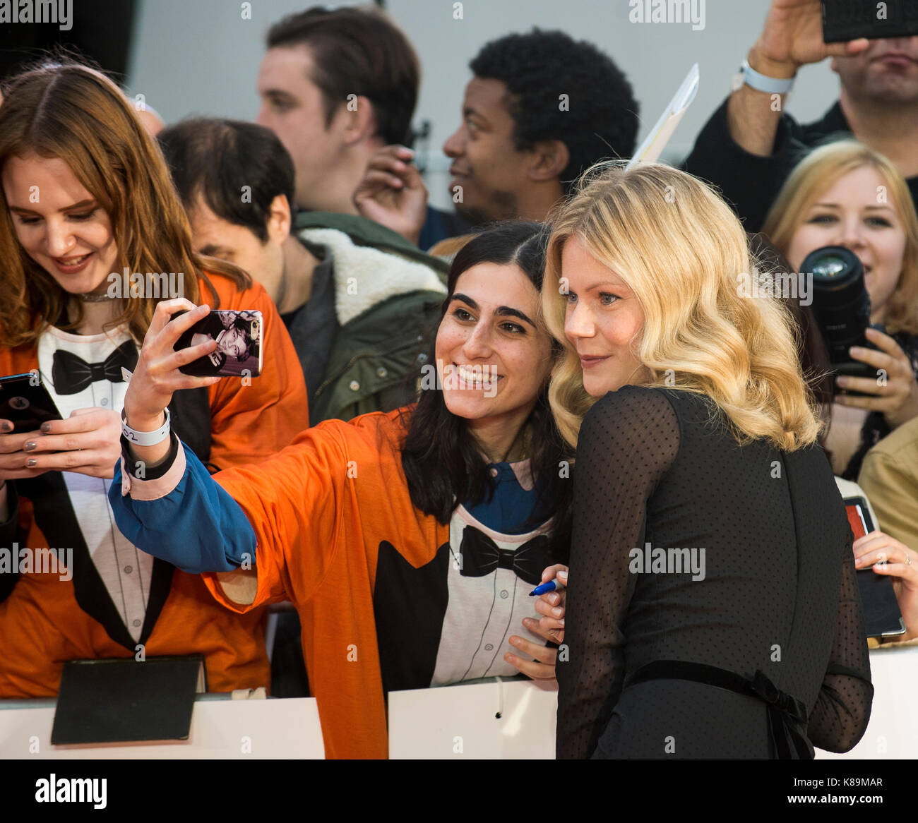 """""""Kingsman: el círculo de oro' Estreno mundial Foto de stock"""
