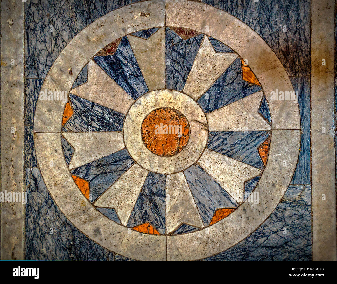 Italia Liguria chiavari Nostra Signora delle Grazie santuario - piso particular Imagen De Stock
