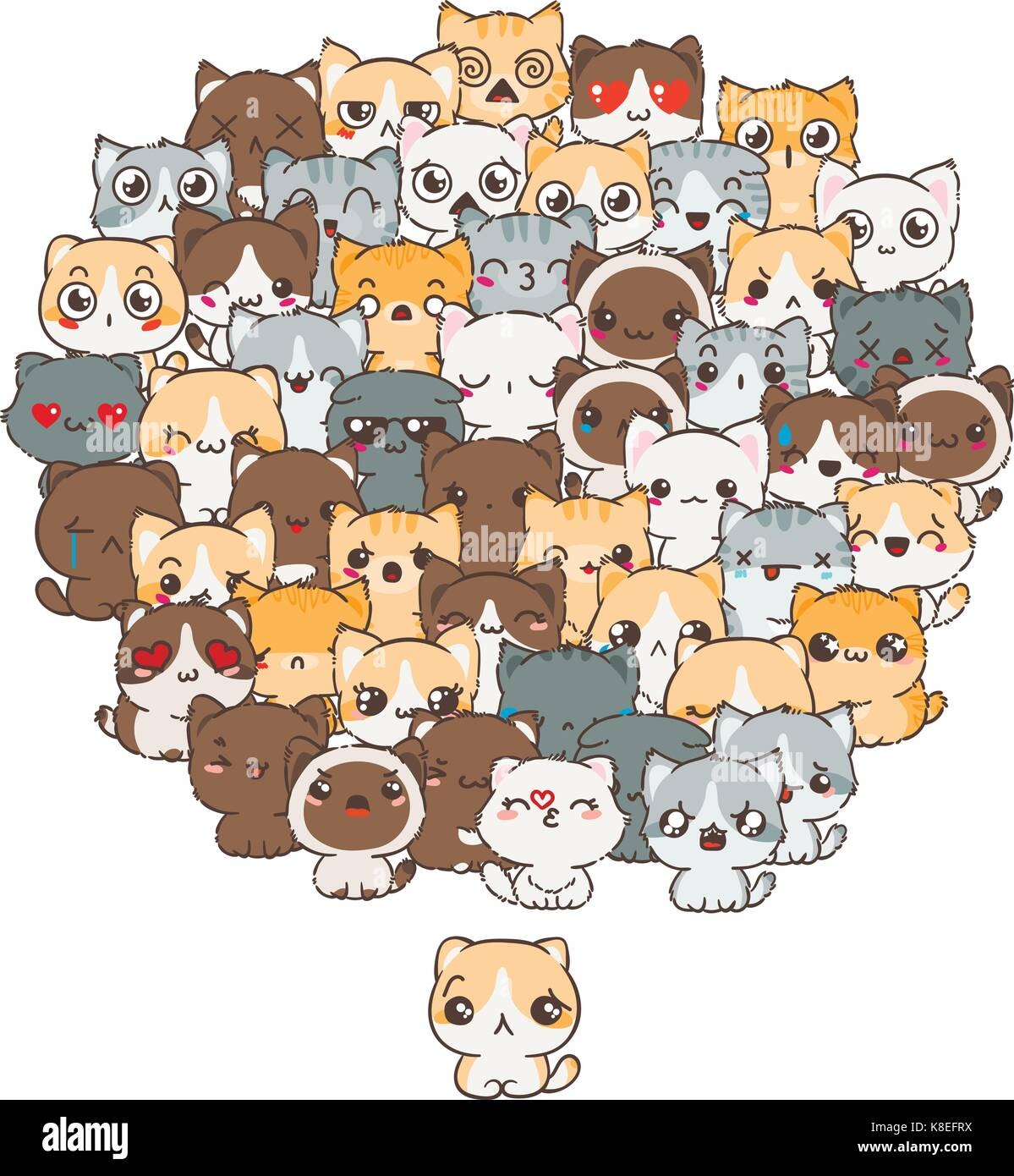 bbbb292e3762c Patrón de vectores para imprimir. ilustration con gatos y perros para el  diseño de carteles