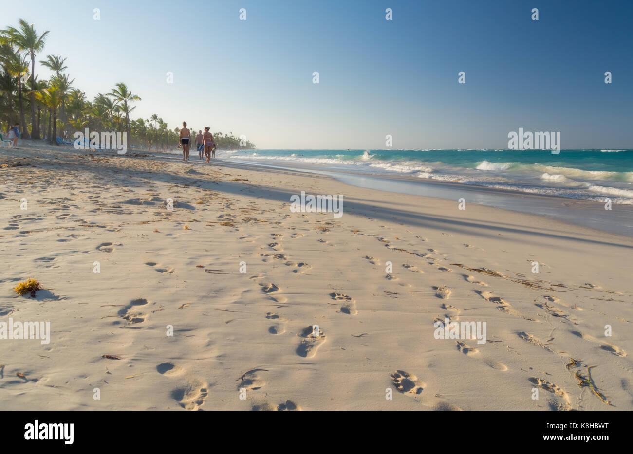 Punta Cana en la República Dominicana. Imagen De Stock