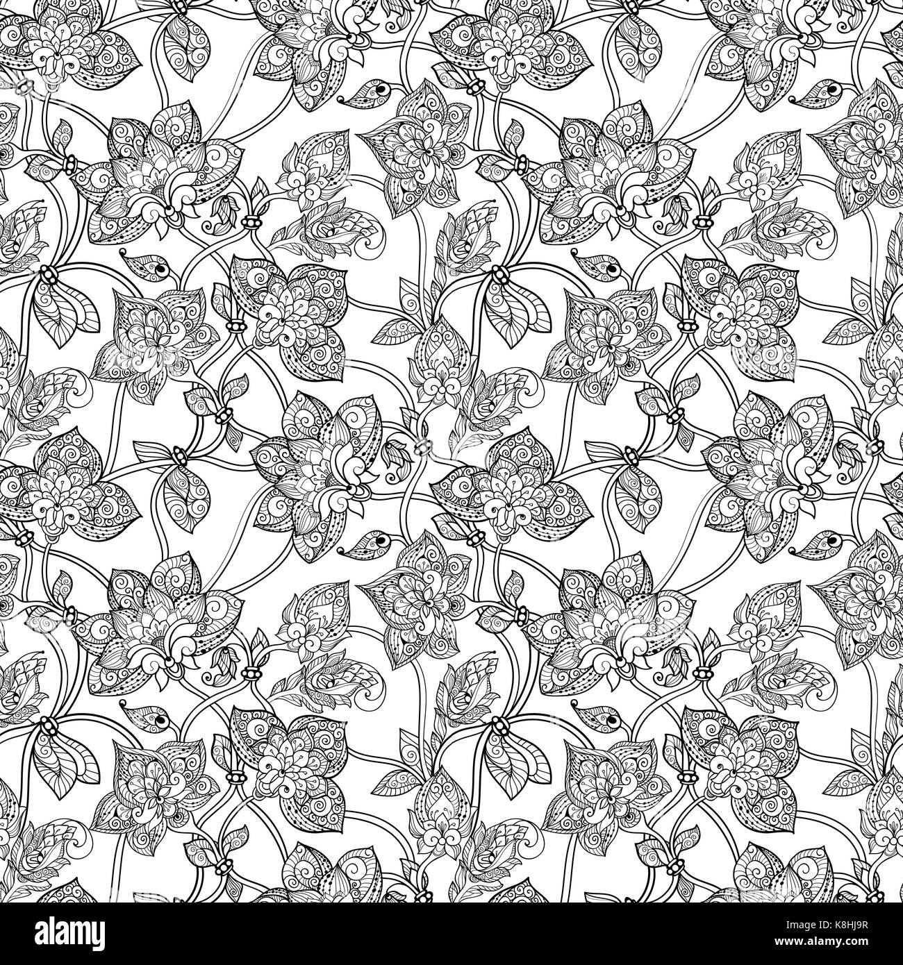 Stylized Flowers Imágenes De Stock & Stylized Flowers Fotos De Stock ...