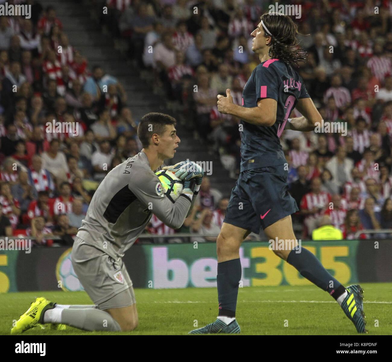 Athletic Bilbaos Goalkeeper Imágenes De Stock   Athletic Bilbaos ... 59e5217921cd6