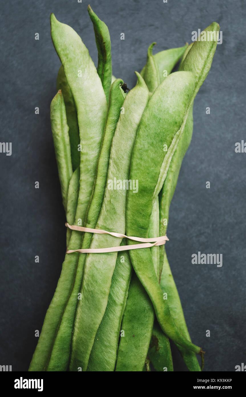 Runner Bean Plant Imágenes De Stock & Runner Bean Plant Fotos De ...