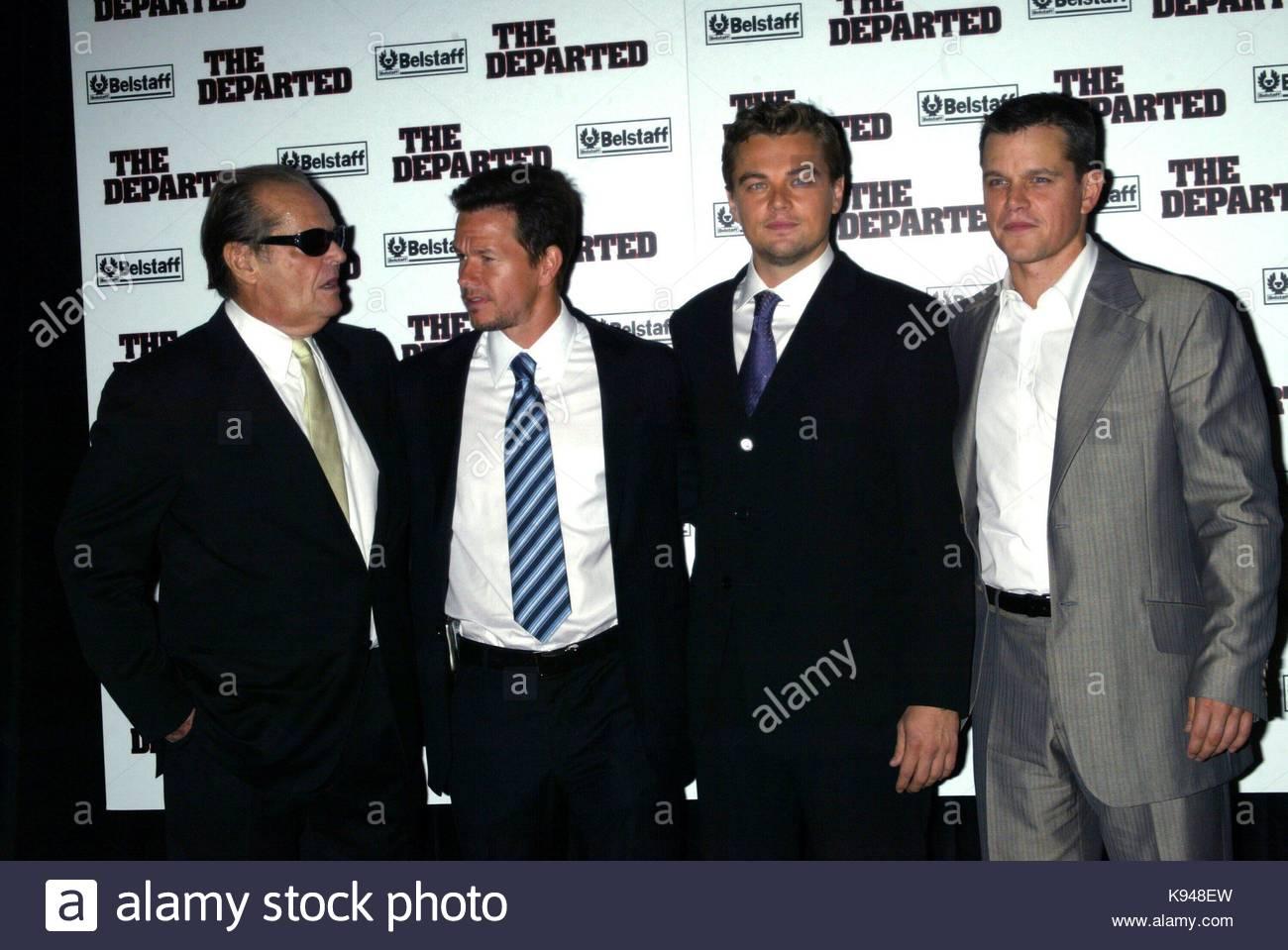 Leonardo Dicaprio Mark Wahlberg Jack Nicholson Y Matt Damon The