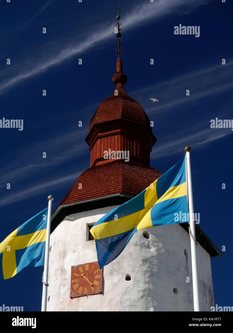 El castillo läckö, fuera de lidköping, Suecia. Imagen De Stock