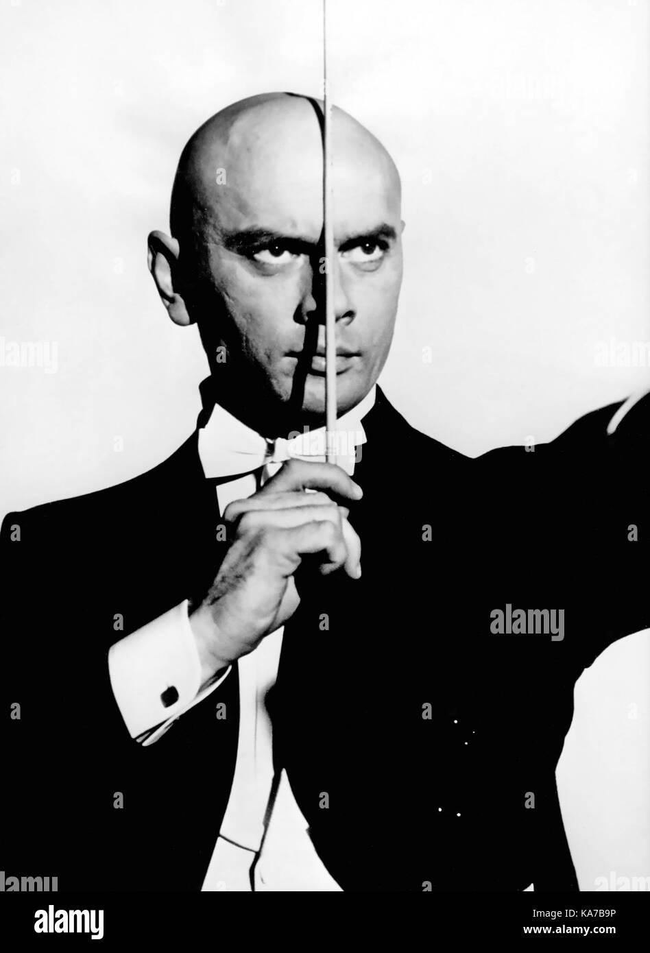 Una vez más, con sentimiento de 1960 Columbia Pictures Film con Yul Brynner Imagen De Stock