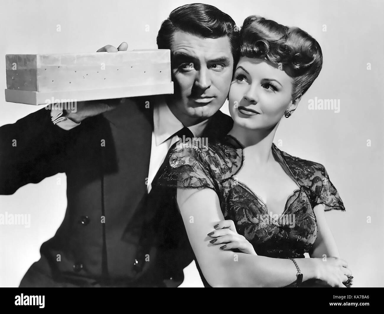 Érase una vez 1944 Columbia Pictures Film con Janet Blair y Cary Grant Imagen De Stock