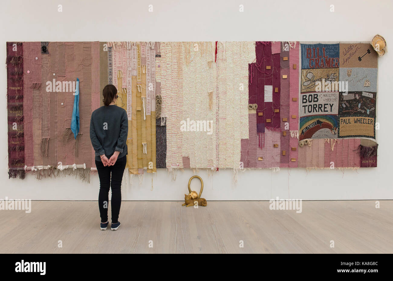 Saatchi Gallery, Londres, Reino Unido. 26 sep, 2017. Galería Saatchi del otoño muestran iconoclastas: Imagen De Stock