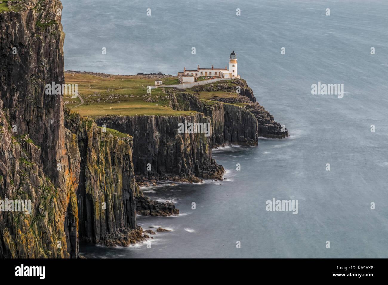 Neist Point, Isla de Skye, Escocia, Reino Unido Foto de stock