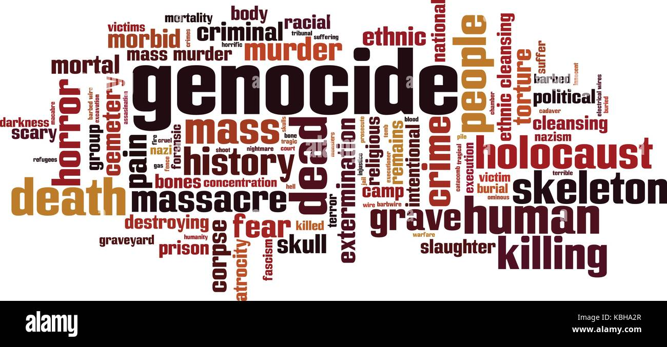 Image result for IMAGEN PALABRA GENOCIDIO