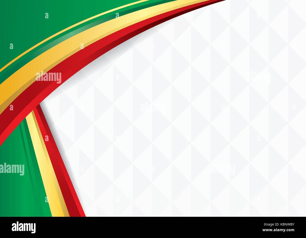 Fondo Abstracto Con Formas Con Los Colores De La Bandera De