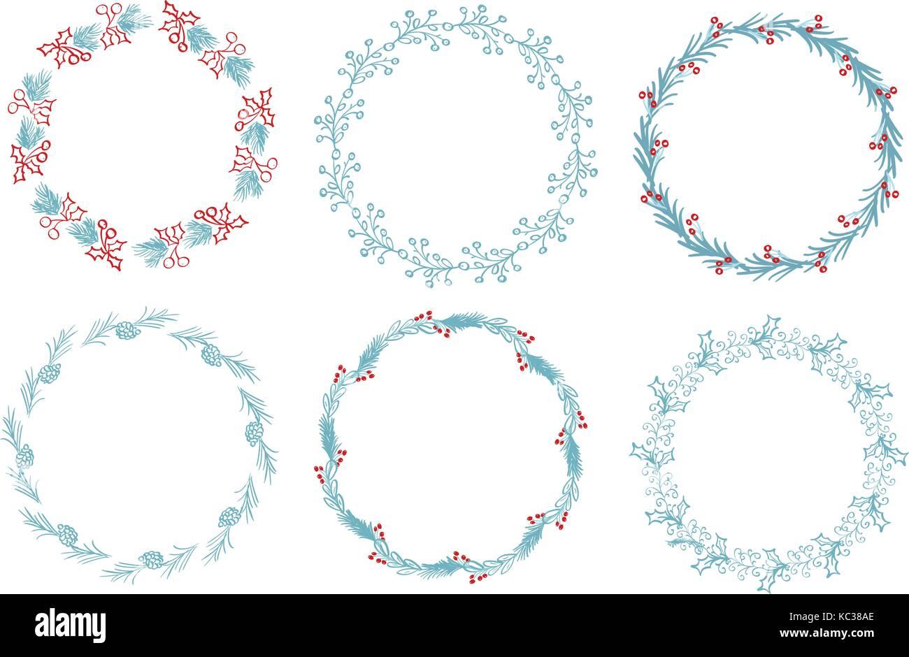 Conjunto de bastidor redondo y bordes decorativos art for Conjunto de espejos decorativos
