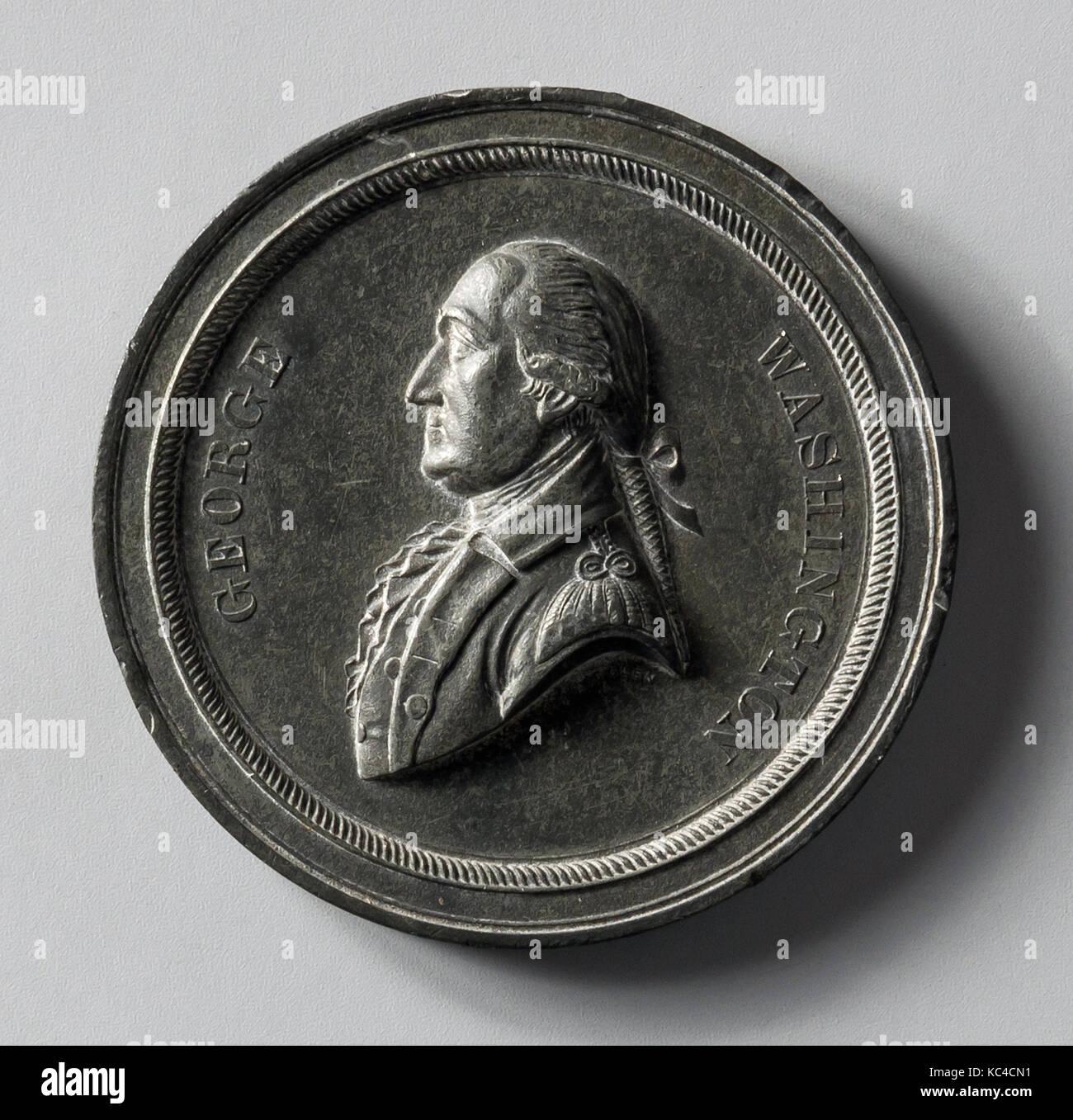 Medalla, 1870-1900, Metal, diam. 2 5/16 in. (5,9 cm), Metal, John A. Bolen (1826-1906 Foto de stock