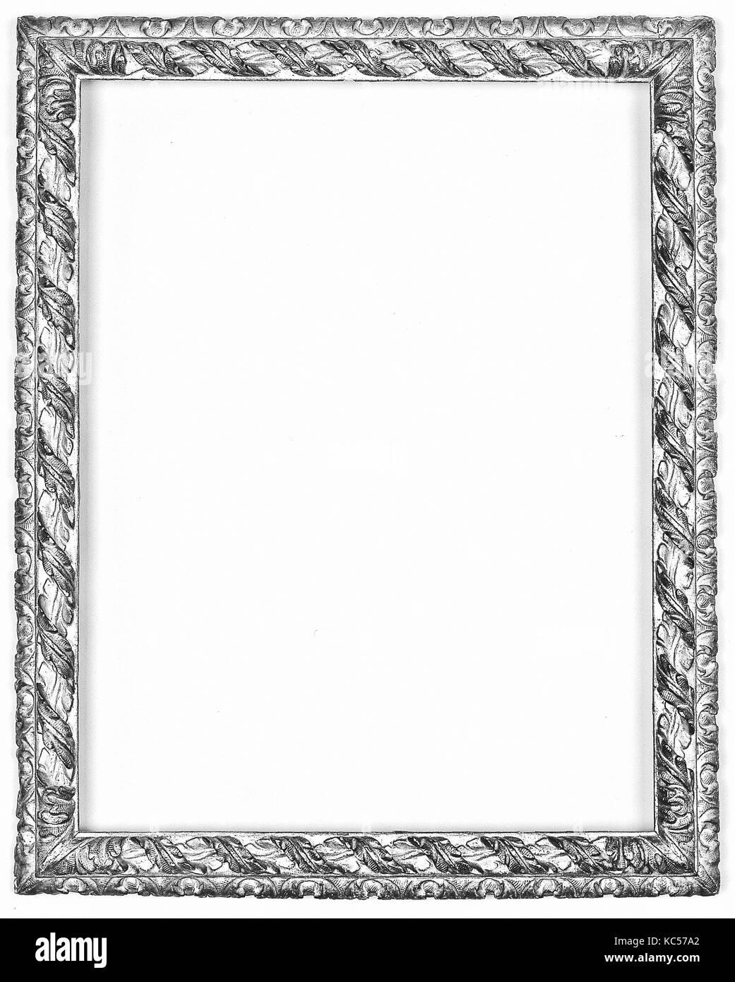 Marco espejo rococó, a finales del siglo XVI, italiano, Venecia ...