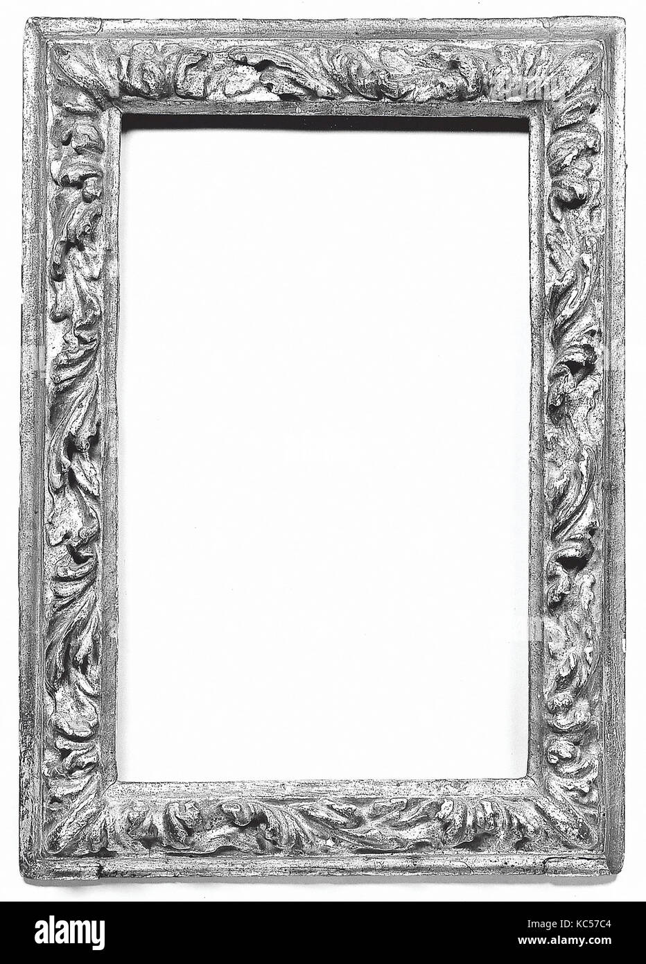 Bastidor astragal, a principios del siglo 17, italiano, Veneto, pino ...